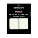 Alessandro-french-manicure-stencils-templates