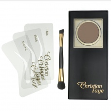 Christian Faye Eyebrow Powder Irid Brown