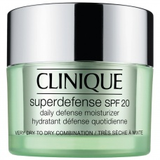 Clinique Superdefense SPF 20 Daily Defense Moisturizer Very Dry to Dry