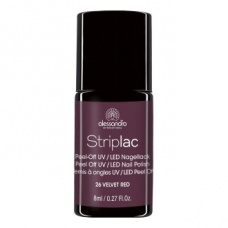 Alessandro StripLac 026 Velvet Red Led Nagellak