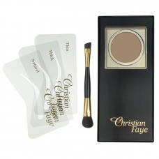 Christian Faye Eyebrow Powder Dark Brown