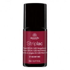 Alessandro Striplac 27 Secret Red Led Nagellak