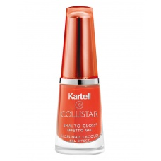Collistar 544 Pop Orange Gloss Nail Lacquer met Gel Effect