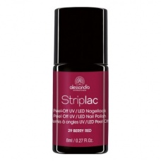Alessandro Striplac 29 Berry Red Led Nagellak