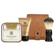 TRUSSARDI MY LAND SET EDT BARBERKIT