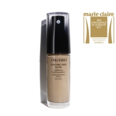 Shiseido Synchro Skin Glow Luminizing Fluid Foundation 004 neutral