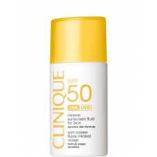 Clinique Mineral Sunscreen SPF 50 Fluid For Face