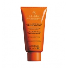 Collistar SPF30 Ultra Protection Tanning Cream Zonbescherming
